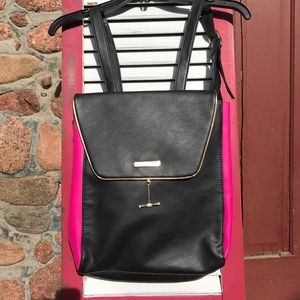 Juicy Couture Black and Hot Pink Backpack